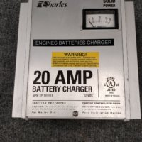 Charles Industries Marine Charger 20A 3 Bank