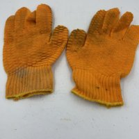 Orange Lobster Gloves(Used)
