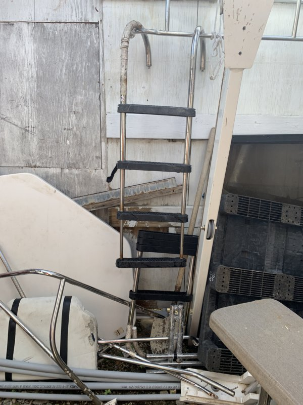 Mounting Board Ladder(Used)