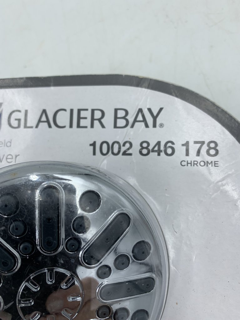 Glacier Bay Shower Head(New (Out of package))
