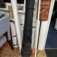 Decorative Plastic Cannon(Used)