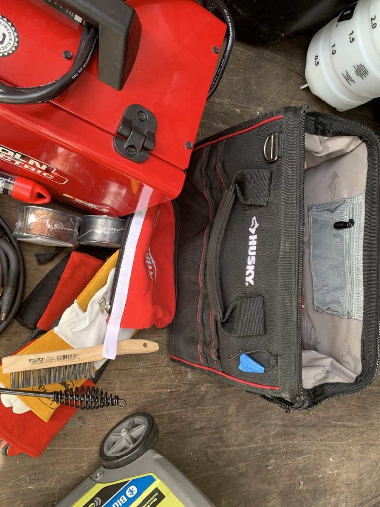 Lincoln Welder w/accesories(Used)