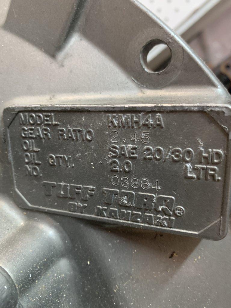 Kanzaki Transmission(Used)