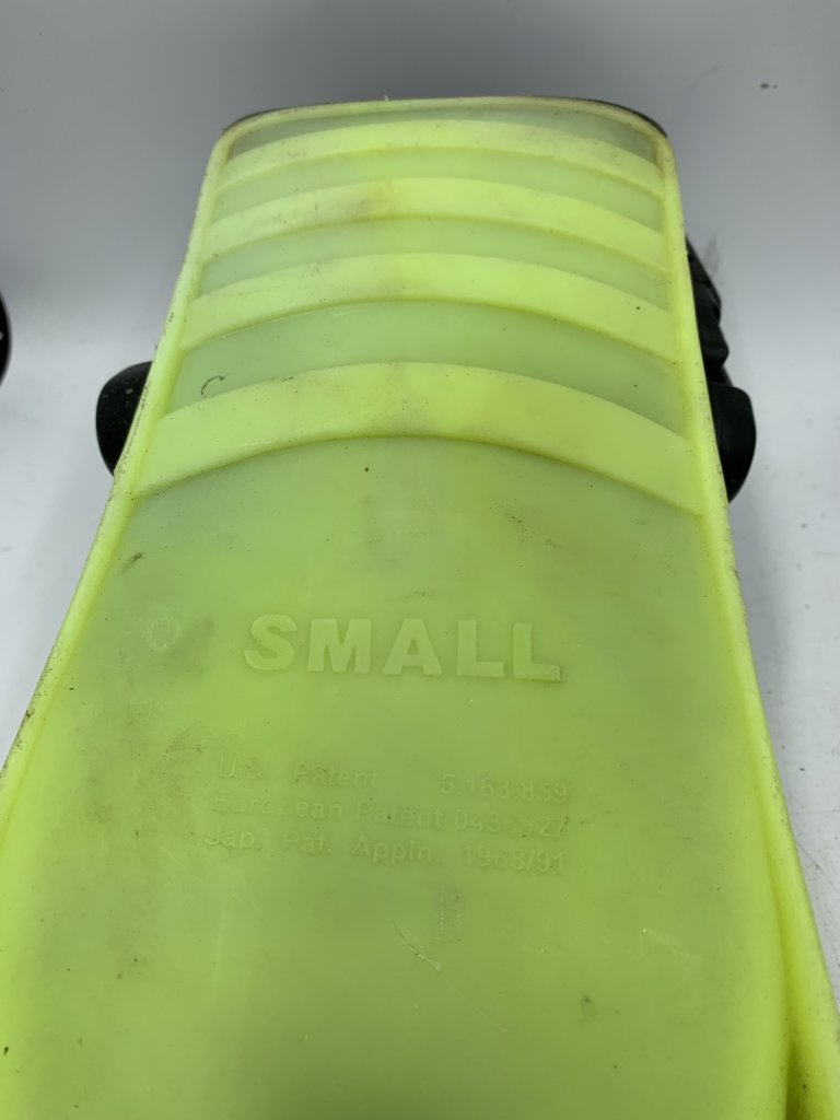 Lime Green Flippers(Used)