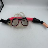 Pink Snorkel and Mask(Used)