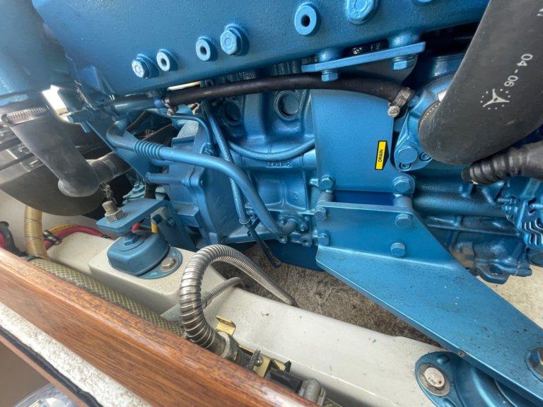 Bertram boat engine