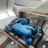 Bertram 31 boats engine